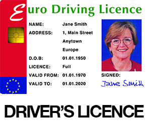 Plastic Card Drivers Licence and Security ID Cards Solutions