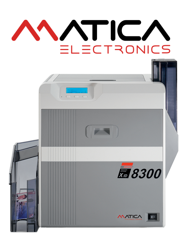 Matica XID 8300 ID Card Printer - International Plastic Card Corporation